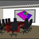 TDT 3D Conference Room Display