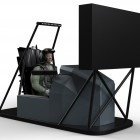 TDT 3D Flight Simulator (front view)