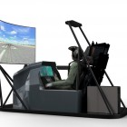 TDT 3D Flight Simulator (left view)